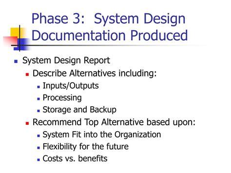 ui pattern documentation ppt system development life cycle sdlc powerpoint