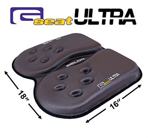 gelco ultra seat cushion gelco gseat ultra orthopedic gel seat cushion with handle