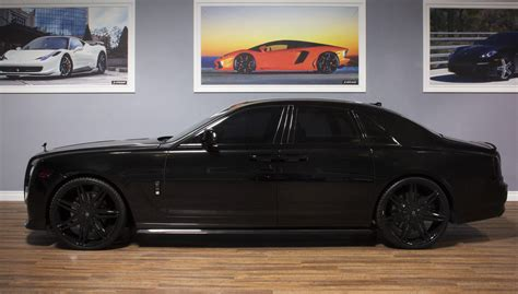 roll royce black all black johnson ii on the rolls royce ghost cars