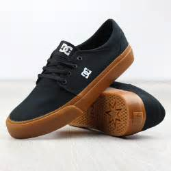 dc shoe dc shoes trase tx black gum canvas ebay