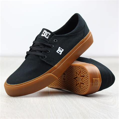 dc shoes dc shoes trase tx black gum canvas ebay
