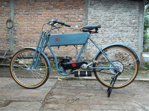 sepeda mesin potong rumput sepeda mesin fanderle motor