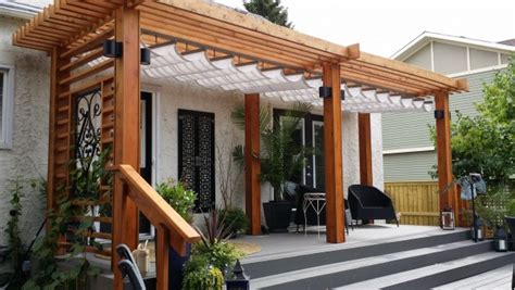 Pergola Design Ideas Pergola Canopy Fabric Retractable