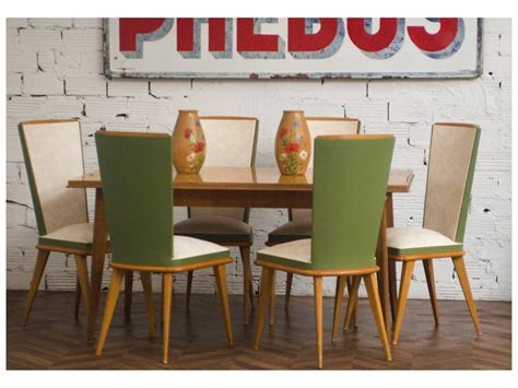 50s dining table and chairs 187 inspired deco