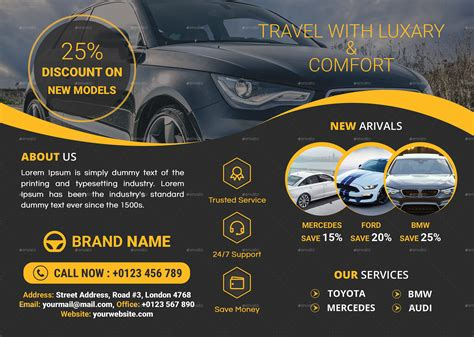service flyer template car service flyer template by ris10 graphicriver
