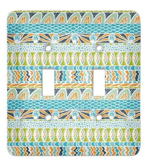 teal light switch cover abstract teal stripes light switch cover 2 toggle plate