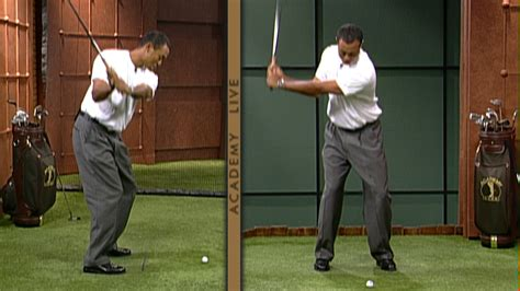 tiger woods golf swing 2000 butch harmon videos photos golf channel