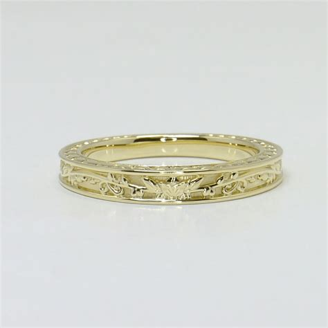 Bridal Gold Ring by The Gallery For Gt Vintage Inspired Gold Engagement Rings