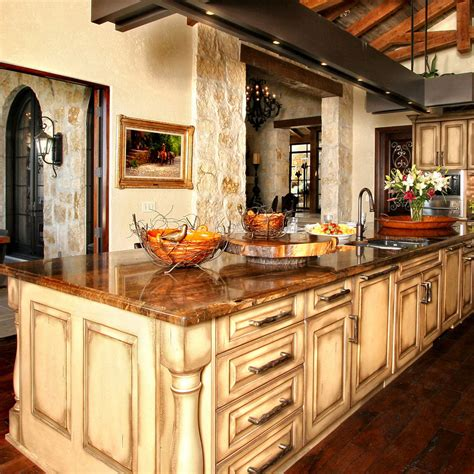 Brown Kitchen Cabinets With Granite Countertops by The Best Colors For Granite Kitchen Countertops Advanced