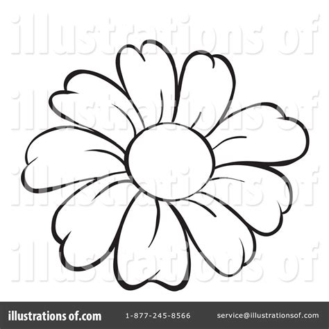 drawing clipart white flower clipart line drawing flower pencil and in