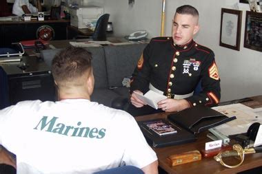 recruiting office image mag