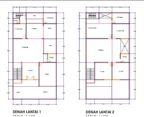 model rumah minimalis 2 lantai beserta denah rumah minimalis terbaru