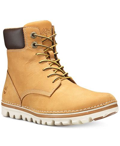 macys mens timberland boots timberland s brookton lace up boots created for