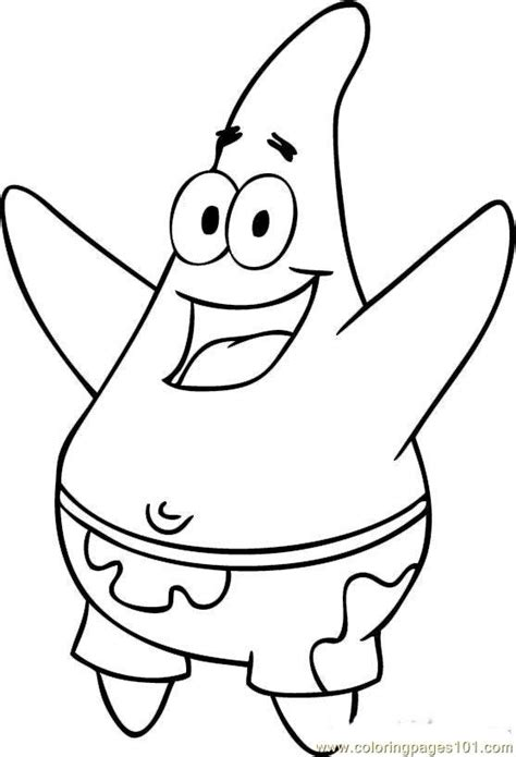 printable coloring pages of spongebob squarepants coloring pages spongebob squarepants step 5