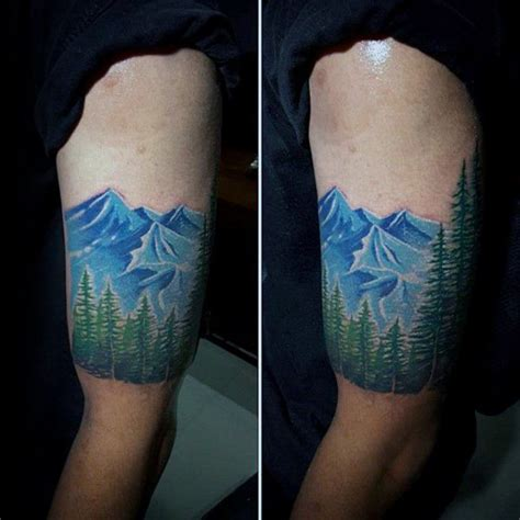 Quarter Sleeve Forest Tattoo | 609 best images about tree tattoos on pinterest trees