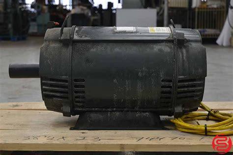 Emerson Electric Motors by Emerson U S Electric Motors 25 Hp Motor Boggs Equipment