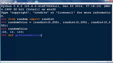 python print color how to get a random color in python programming language