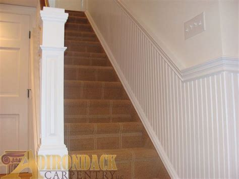 beadboard staircase beadboard and carpet for the home