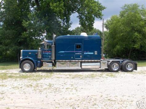 1984 peterbilt 160 quot sleeper truck conversion toterhome