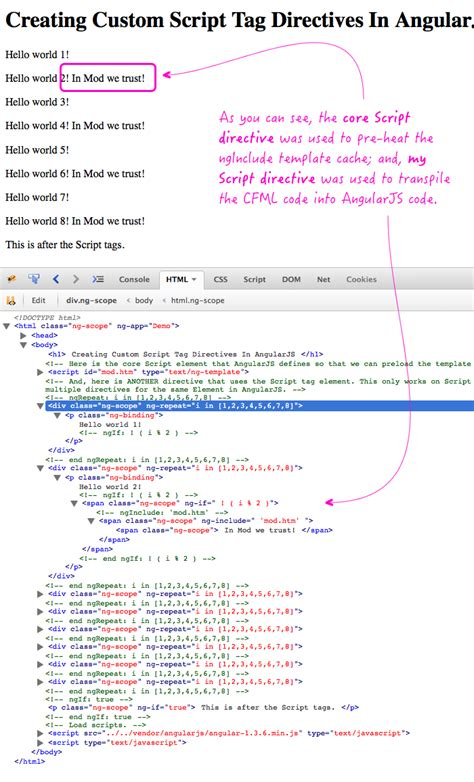 angular script template creating custom script tag directives in angularjs
