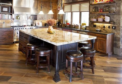 rustic kitchen islands with seating favorite 17 nice photos rustic kitchen islands with