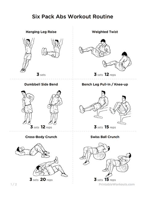 how to get fit six tricks for six pack abs without