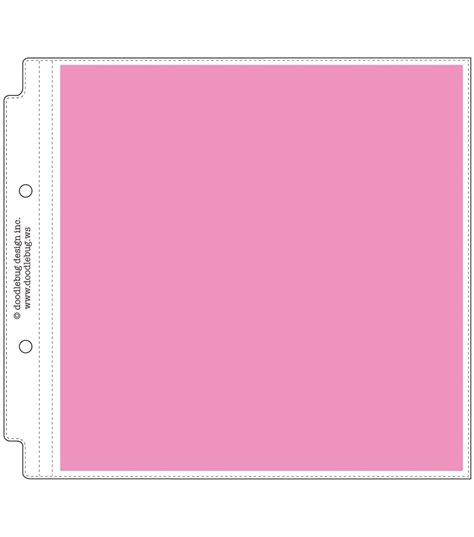doodlebug website doodlebug page layout protectors 8 quot x8 quot jo