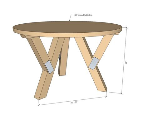 pedestal dining table plans woodworking projects