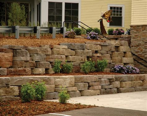 Rosetta Stone Retaining Wall | scheftic construction a western pa contractor