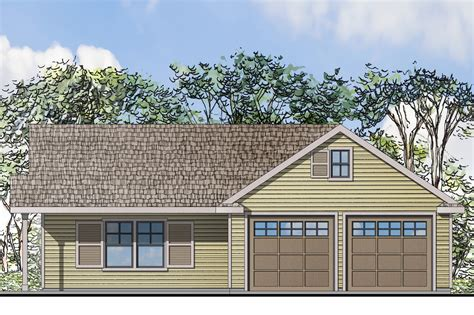 house plans with 2 separate attached garages traditional house plans garage w living 20 116