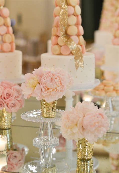blush pink bridal shower decor 43 best images about wedding shower ideas on