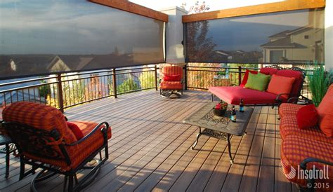 Roller Shade For Patio by 6 Easy Ways To Spruce Up Your Patio This Insolroll