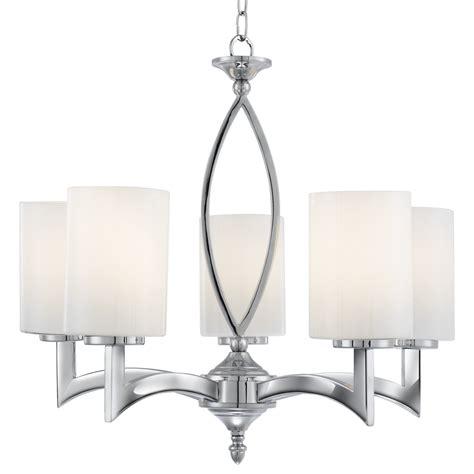 searchlight 4995 5cc chrome 5 arm ceiling light