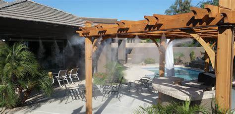 backyard misting system phoenix misting system installation mist system