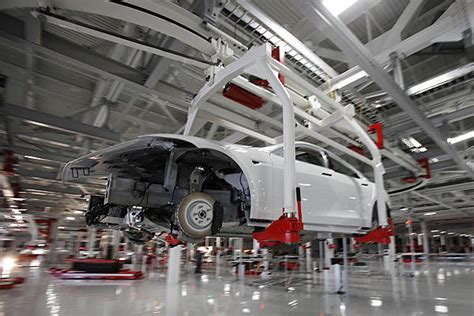 Tesla Manufacturing Tesla To Its Production At Fremont Plant