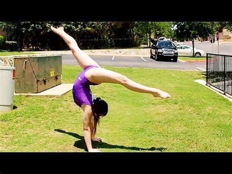dance tutorial f x hot summer gymnastics front walkover tutorial youtube