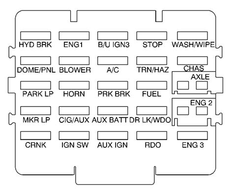 gmc t6500 fuse box wiring diagram gmc t6500 fuse box wiring diagram