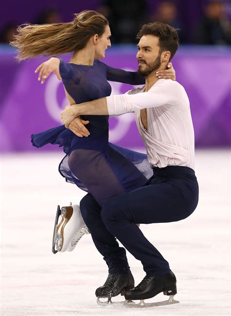 Wardrobe Malfunction At The Olympics - dancers win silver one day after wardrobe