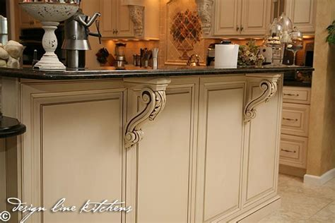 kitchen island corbels corbels in the kitchen kitchen ideas