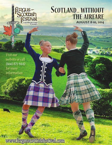 fergus scottish festival  highland games   wha
