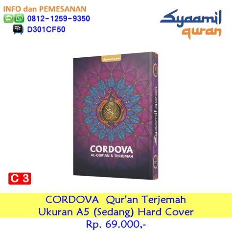 Syaamil Al Quran Azalia A6 Kulit Kerut Resleting Kecil 95x135 A2 syaamil al quran cordova a6 cover kulit resleting kecil