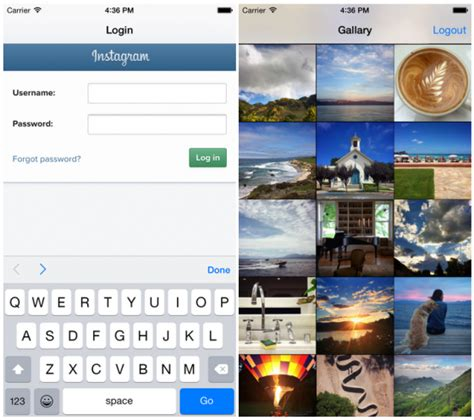 instagram login tutorial ios exle a swift based ios instagram photo downloader and