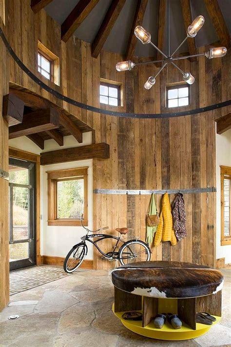 Meteran Wood 5m turret home with rustic interiors