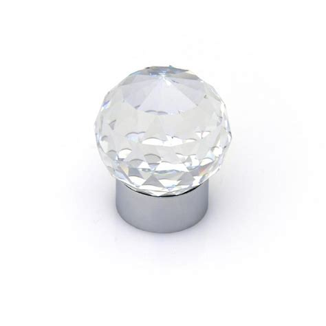 swarovski crystal cabinet knobs topex swarovski crystal collection chrome round cabinet