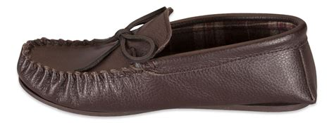 mens leather slippers with rubber soles nordvek mens genuine leather moccasin slippers rubber