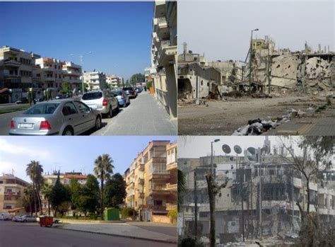 syria before and after syria before and after war photos ways steps islamic