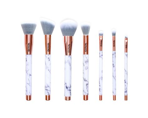 Brush Set Brush Set gwa marble collection makeup brushes 7 makeup brush