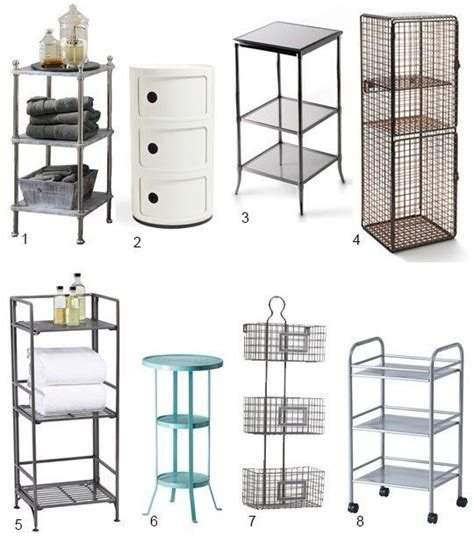 high low 3 tier bathroom storage small space