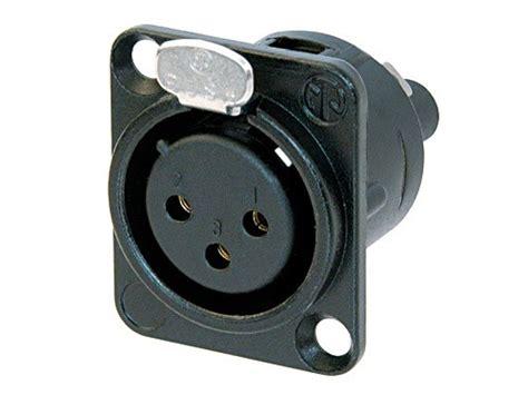 Neutrik Nc3mxx Xlr 3 Pin Pole Original neutrik nc3fds1 b xlr receptacle 3polig 11 70
