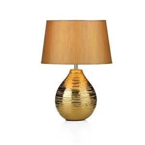 Dar gus4035 gustav 1 light small gold table lamp
